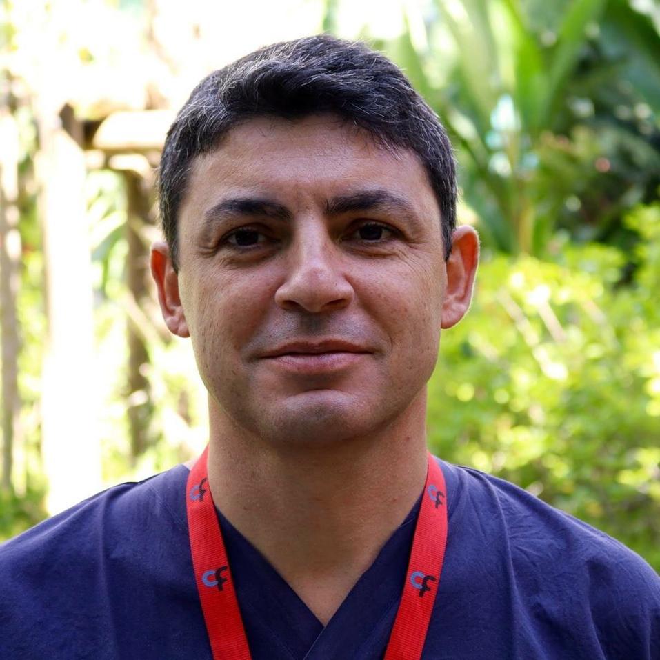 Gastroenterologist Ricardo Rio-Tinto