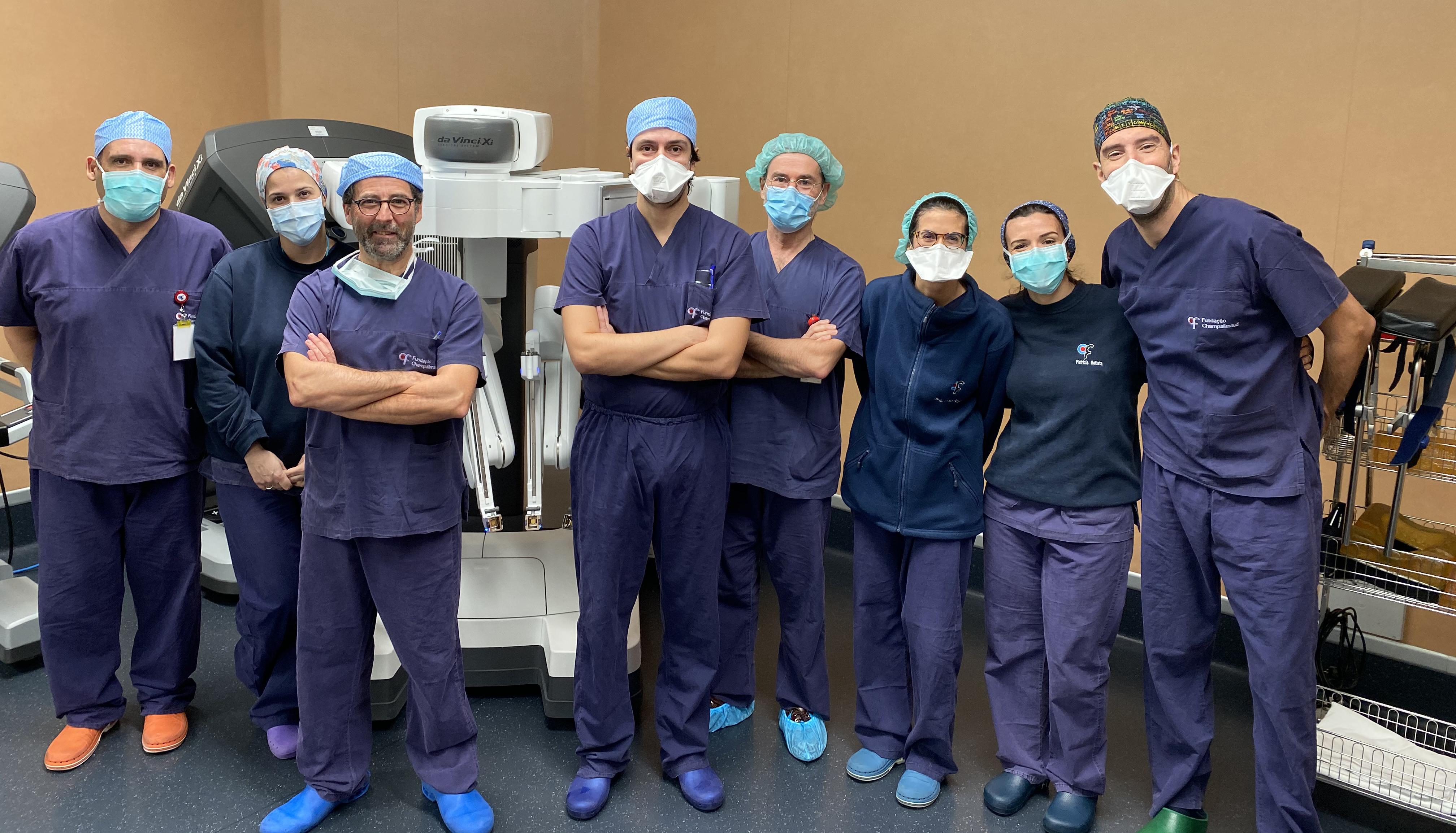 Cirurgia robótica em ginecologia oncológica