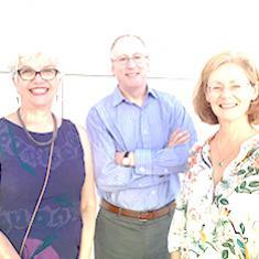 2016: Christine Holt, Carol Mason, John Flanagan e Carla Shatz